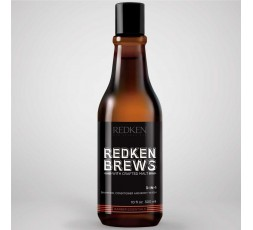 REDKEN BREWS 3in1 Shampoo 300 ml