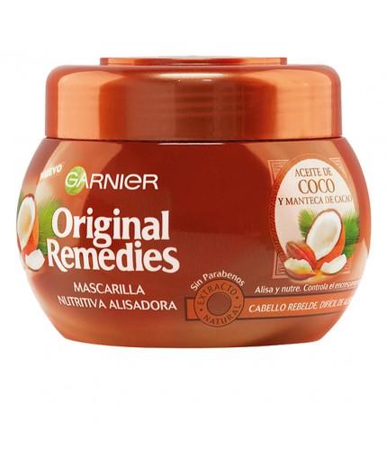 GARNIER ORIGINAL REMEDIES Haamraske mit Kokosöl und Kakaobutter 300 ml