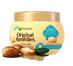ORIGINAL REMEDIES Haarmaske mit Arganöl und Mandelcreme 300 ml
