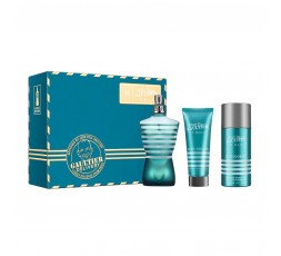 LE MALE SET - Eau de Toilette 125ml + Shower Gel 75ml + Deo Spray 150ml
