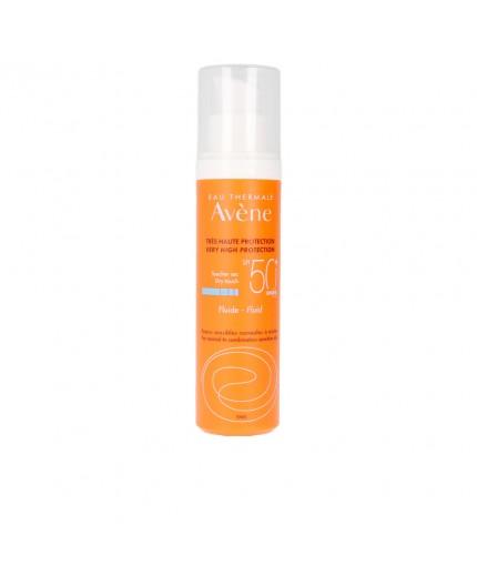 Sonnenfluid mit hohem Schutzfaktor im praktischen Airless-Pumpflacon SPF50+ 50 ml