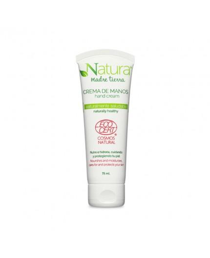 Crema de manos orgánica certificada por EcoCert 75 ml