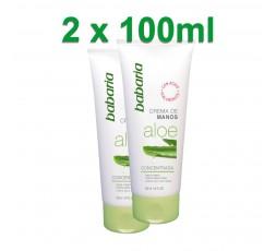 Handcreme mit Aloe Vera und Hyaluron Set 2 x 100 ml