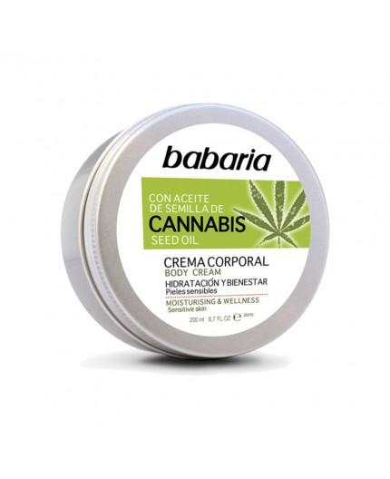 Körpercreme mit Cannabisöl, Sheabutter, Moringabutter und Vitamin E 200 ml