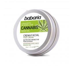 Gesichtscreme für die tägliche Anwendung mit Cannabisöl und vielen wertvollen Inhaltsstoffen 50 ml
