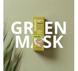Kur Gesichtsmaske grün mit Cannabis-Samen ÖL 100 ml