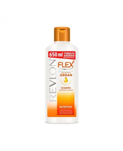 FLEX KERATIN Shampoo mit Arganöl für trockenes Haar 650 ml