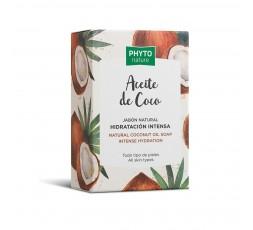 Natürliche Seife mit Kokosöl 120 gr