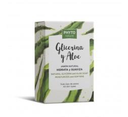 Natürliche Seife mit Glycerin und Aloe Vera 120 gr