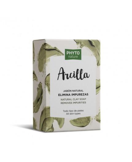 Seife mit Pflanzenöl und hohem Gehalt an grüner Tonerde (5%) 120 gr