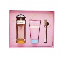 PRADA CANDY SUGAR POP SET - Eau de Parfum Spray 80ml + Body Lotion 75ml + Roll on 10ml
