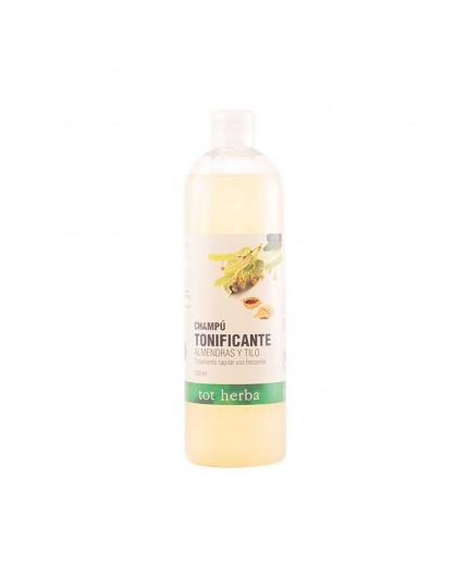 Das TOT HERBA Shampoo mit Mandelöl und Lindenöl ist für die tägliche Haarwäsche geeignet.