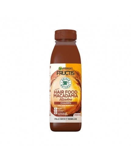 Macadamia Shampoo. 98% organische Inhaltsstoffe 350 ml