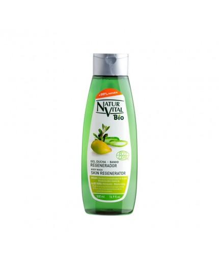 NATUR VITAL Duschgel mit Argan und Aloe Vera, 99,6% natürliche Inhaltsstoffe! 500 ml