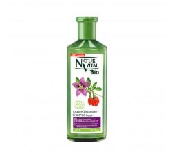 Shampoo mit Aloe Vera und Goji Extrakt, 99% der Inhaltsstoffe sind natürlichen Ursprungs - 300 ml
