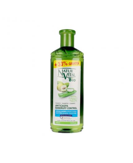 NATUR VITAL Anti Schuppen Shampoo - 99% der Inhaltsstoffe sind natürlichen Ursprungs - 400 ml