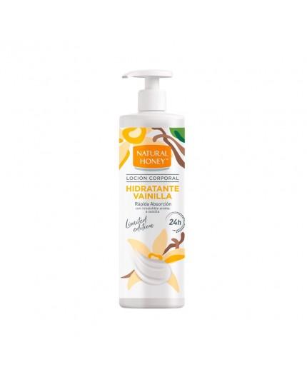 NATURAL HONEY Körperlotion in der Pumpflasche mit Vanille 700 ml
