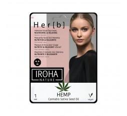 Gesichtsmaske mit Cannabis Samenöl und Aloe Vera