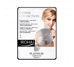 Gesichtsmaske mit Platin und Hyaluronsäure