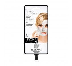 Gesichtsmaske mit Platin und natürlichen Extrakten - 4 Anwendungen